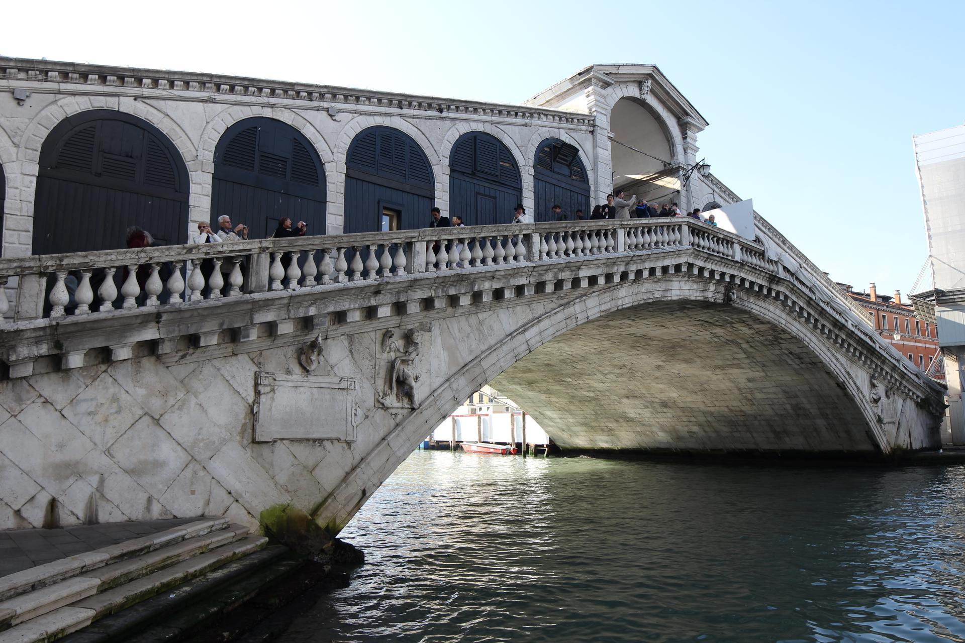 Rinforzo strutturale Sika Ponte di Rialto Venezia